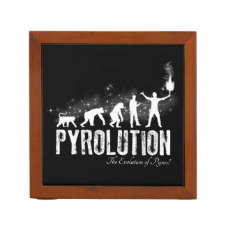 Pyrolution - The Evolution of Pyros Desk Organiser