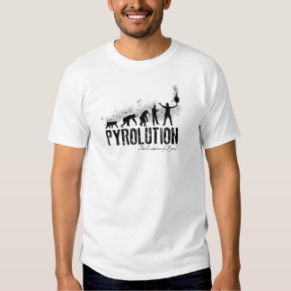 Pyrolution - The evolution OF Pyros T Shirts