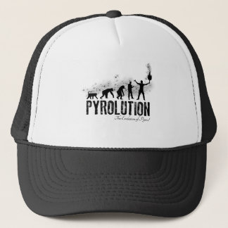 Pyrolution - The Evolution of Pyros Trucker Hat