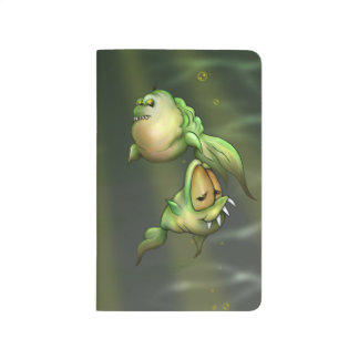 PYROS ALIEN FISH  Pocket Journal Blank