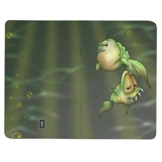 PYROS ALIEN FISH  Pocket Journal Lined