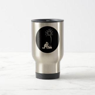 Pyrotechnician Stainless Steel Travel Mug