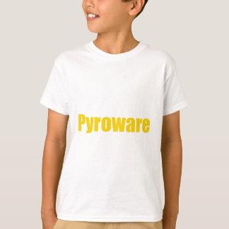 Pyroware white Kids T-Shirt Vertical