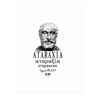 Pyrrho's Ataraxia Postcard