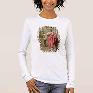 Pyrrhus, costume for 'Andromache' by Jean Racine, Long Sleeve T-Shirt