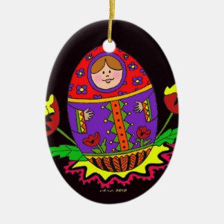 Pysanka Christmas Christmas Tree Ornaments