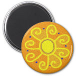 Pysanka Symbol: Sun Fridge Magnets
