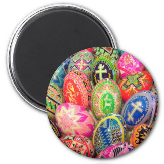 Pysanky  Egg Magnet