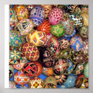 Pysanky - Ukrainian Easter Eggs Poster