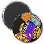Pysanky, Ukrainian Folk Art 6 Cm Round Magnet