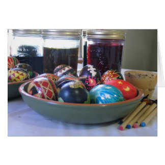 Pysanky Writing Note Card
