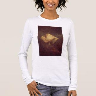 Pythagoras (6th century BC) (oil on canvas) Long Sleeve T-Shirt