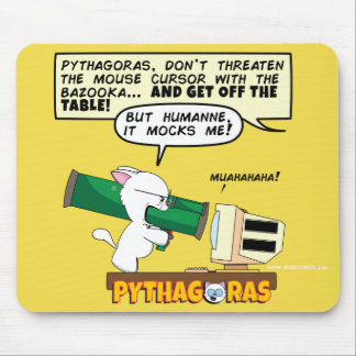 Pythagoras Bazooka Mousepad
