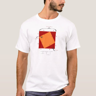 Pythagoras demonstration - math is beautiful. T-Shirt