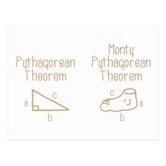 Pythagorean Postcard