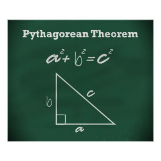 Pythagorean Theorem Poster *UPDATED*