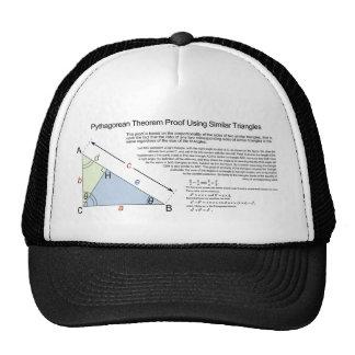 Pythagorean Theorem Proof Using Similar Triangles Mesh Hats