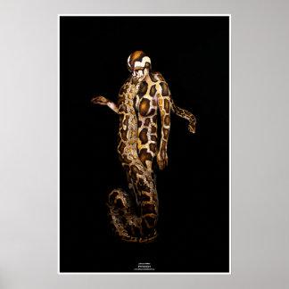Python by Johannes Stötter Poster