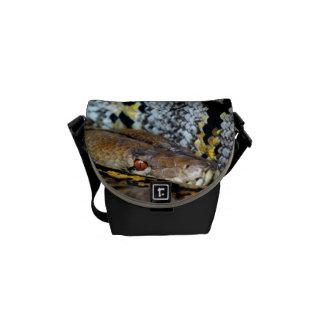 Python O' Plenty Cool Animal Snake Bro/Dad/Uncle Courier Bag