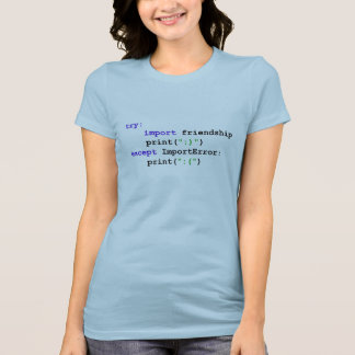 Python Program: Let's Be Friends Tops and Tees