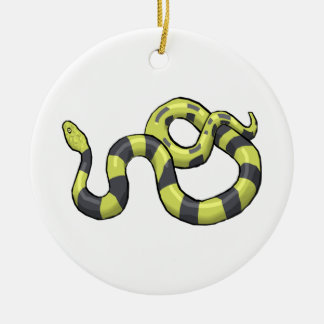 Python Snake Christmas Ornament