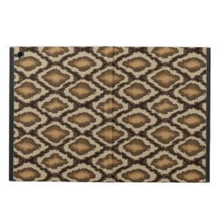 Python snake skin pattern 2 iPad air case
