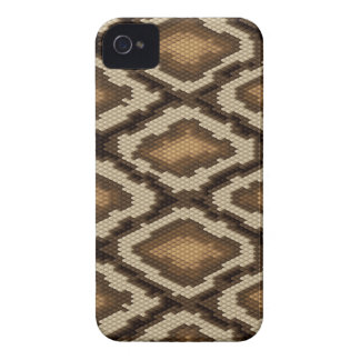 Python snake skin pattern 2 iPhone 4 cases
