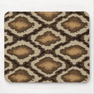 Python snake skin pattern 2 mouse mat