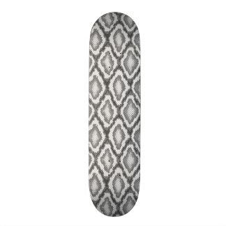 Python snake skin pattern custom skateboard