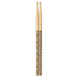 Python snake skin pattern drumsticks
