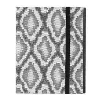 Python snake skin pattern iPad folio case