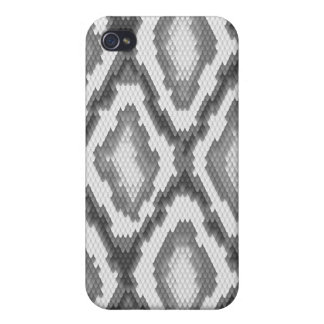 Python snake skin pattern iPhone 4/4S covers