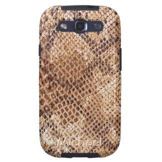 Python Snake Skin Print Samsung Galaxy SIII Covers