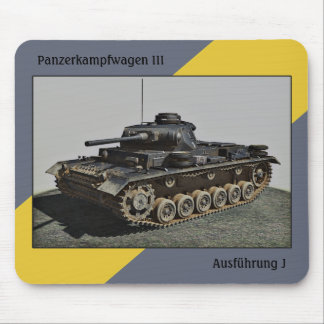 Pzkpfw III Ausf J-MousePad Mouse Mat