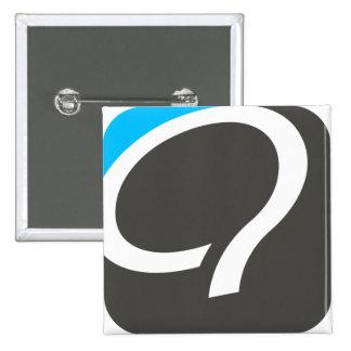 Q Button - Blue