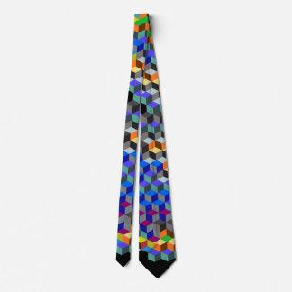 Q Cubes Tie