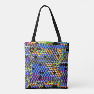 Q-cubes Tote Bag