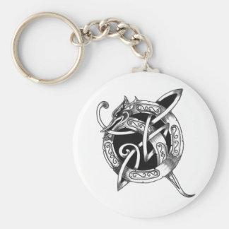 Q_Dragon Key Ring