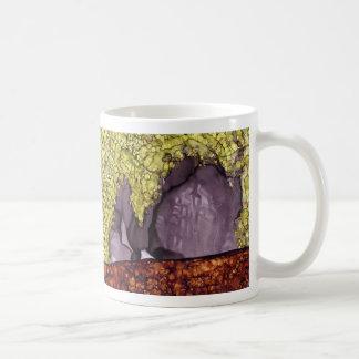 Q is for Quartz alphabet art mug