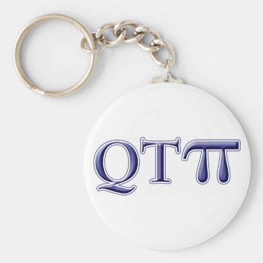 Q T Pi Key Ring