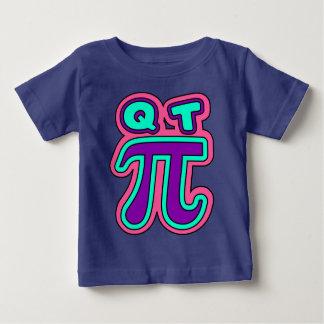 Q. T. pie, π,cutie,cute Baby T-Shirt