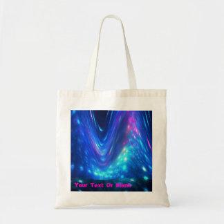 Qaanaaq - Northern Lights Budget Tote Bag