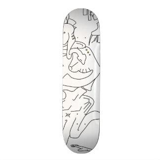 Qaiullxa Skateboard 19 sketch version