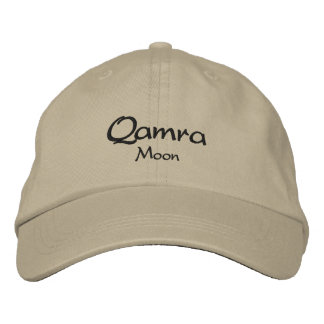 Qamra / Means Moon Embroidered Cap