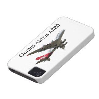 Qantas Airbus A380 Aircraft iPhone 4 Case