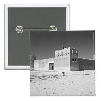 Qatar, Al Zubarah. Al-Zubara Fort (b.1938) now 15 Cm Square Badge