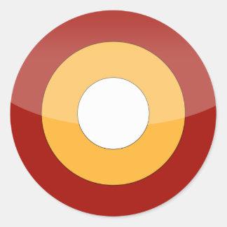 Qatar Classic Round Sticker