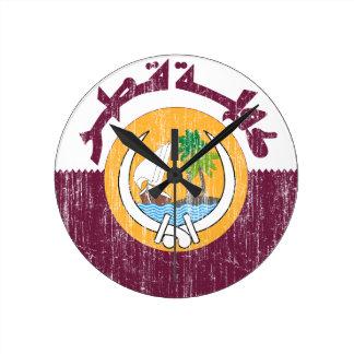 Qatar Coat Of Arms Clocks