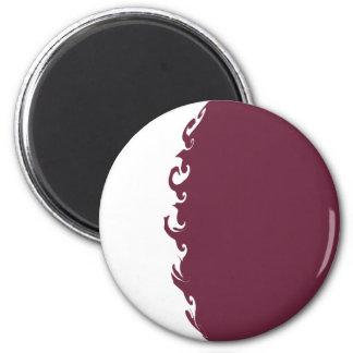 Qatar Gnarly Flag Magnets