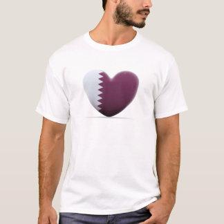 Qatar Heart Flag T-Shirt